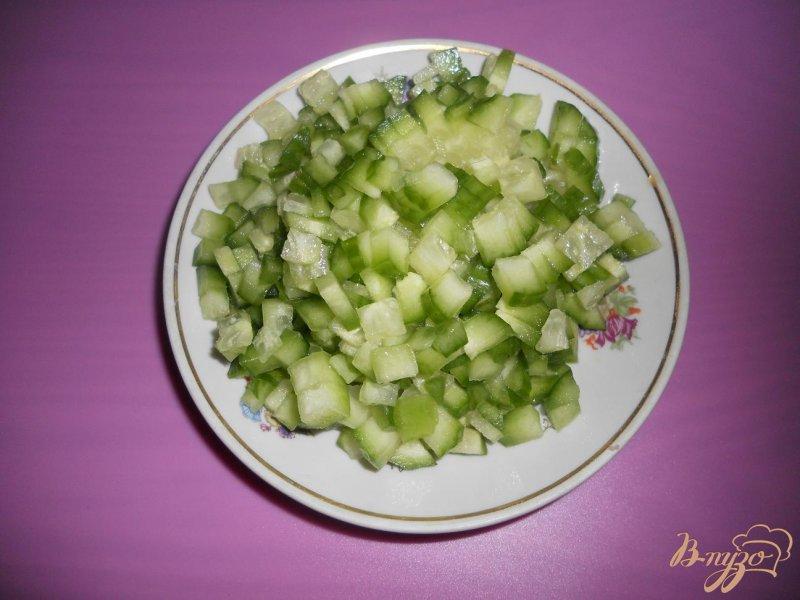 Фото приготовление рецепта: Оливье-лайт шаг №3