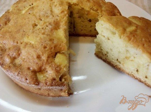 Рецепт Нежная шарлотка с лимоной цедрой