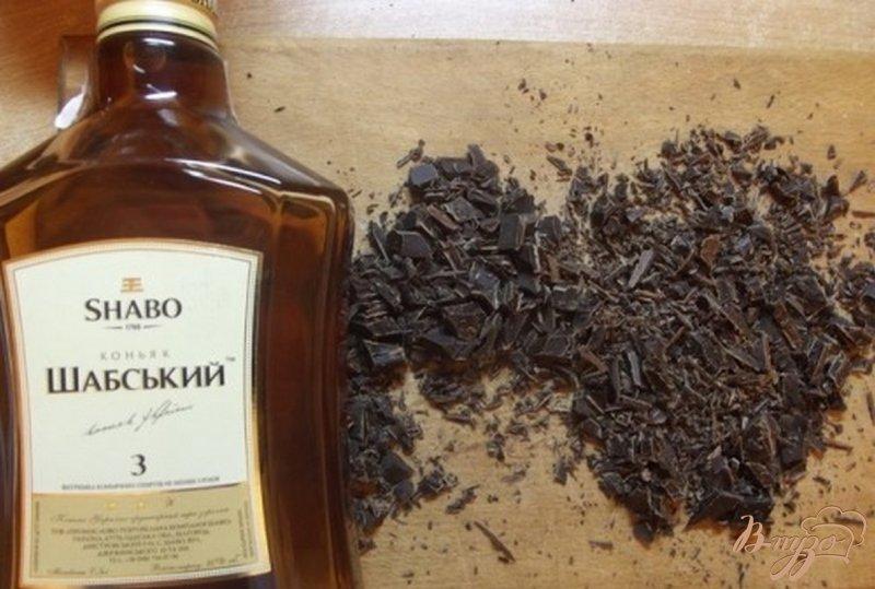 Фото приготовление рецепта: Шифоновый пирог с шоколадным кремом шаг №5