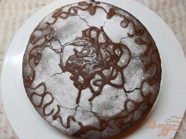Рецепт Шифоновый пирог с шоколадным кремом