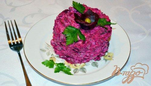 фото рецепта: Буряковый (свекольный) салат