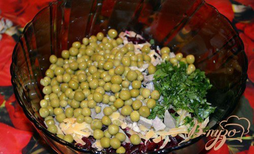 Буряковый (свекольный) салат
