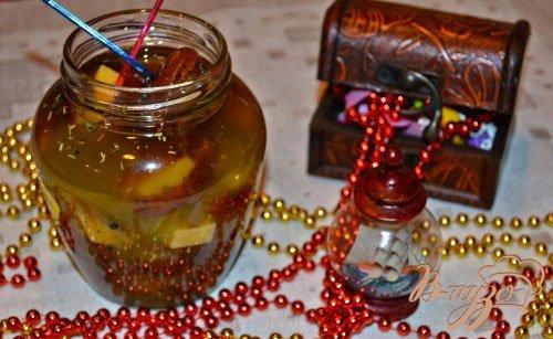 фото рецепта: Заморские фаршированные финики под алкоголь