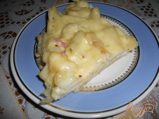 Рецепт Запеканка из макарон с сыром