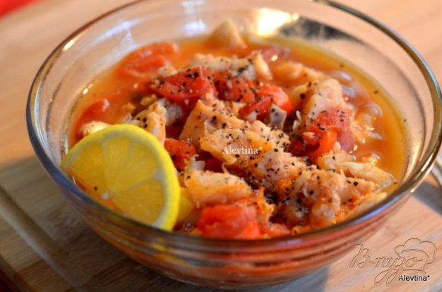 Рецепт Тушеная пряная рыба
