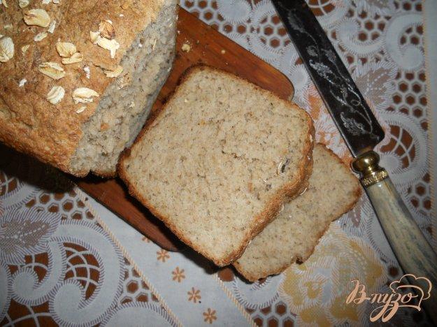 Рецепт Овсяный хлеб на скорую руку