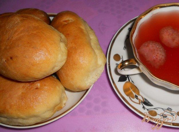 Рецепт Домашние пирожки с яблоками