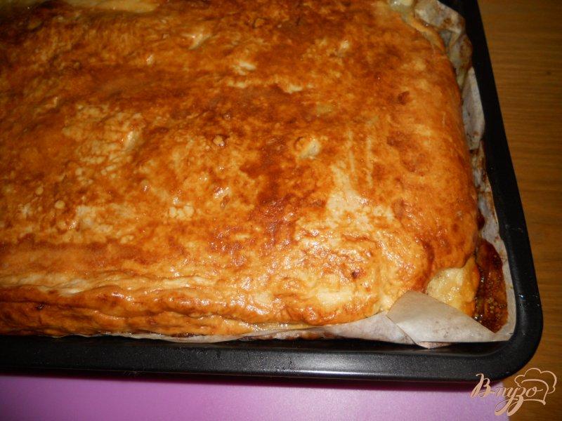 Фото приготовление рецепта: Пирог с лимонной начинкой шаг №12