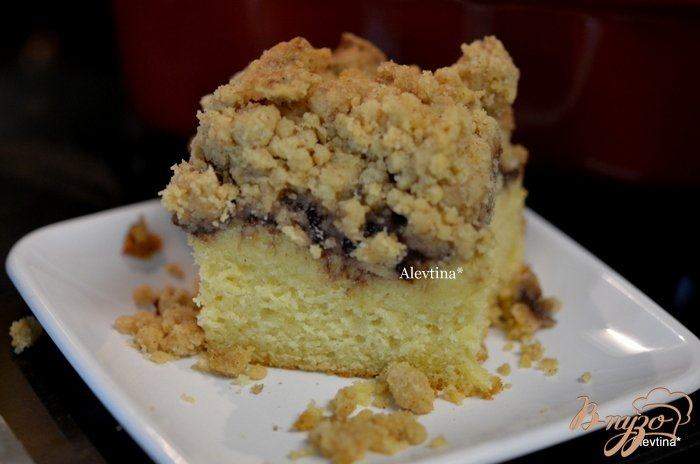 Фото приготовление рецепта: Нью-Йорк кофе кекс шаг №7