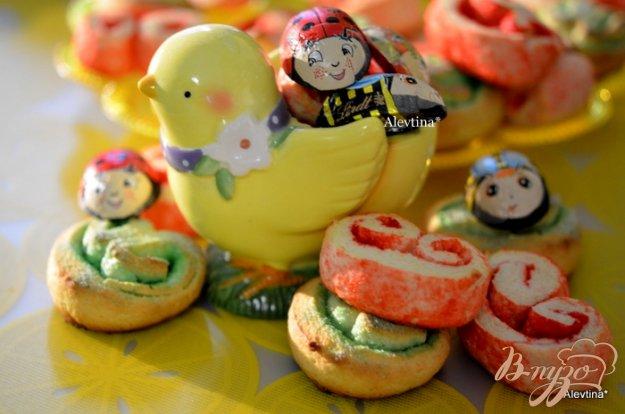 Рецепт Праздничное творожное печенье