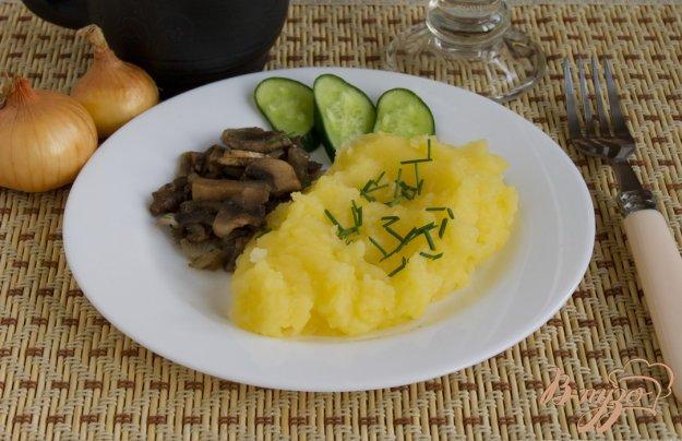 Рецепт Пюре картофельное с луком