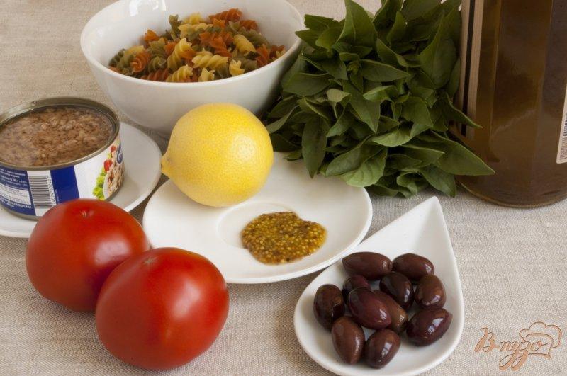 Фото приготовление рецепта: Салат с тунцом шаг №1