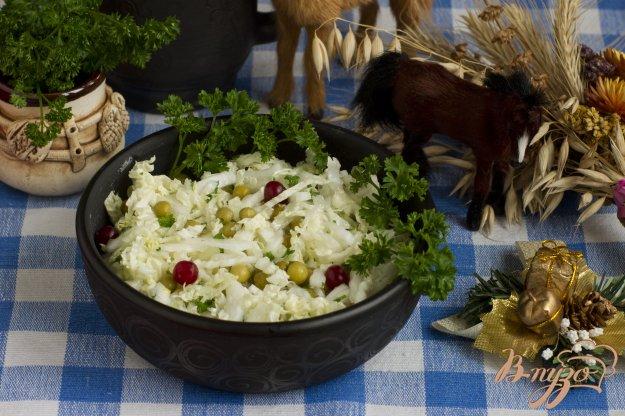 фото рецепта: Салат с горошком