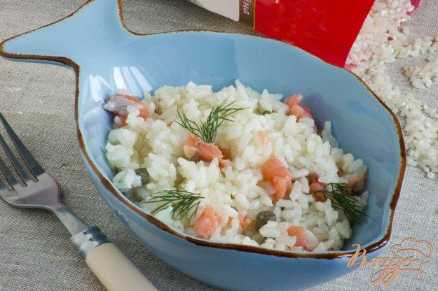 Рецепт Рис с форелью и ароматным маслом