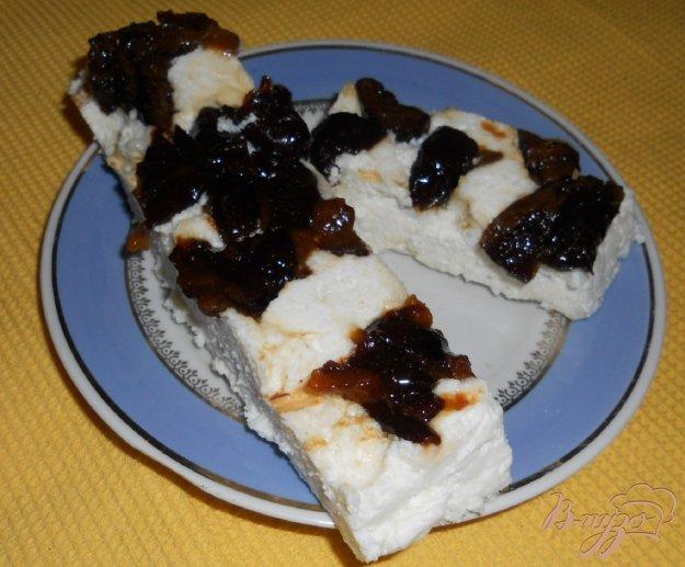 Рецепт Творожный десерт с черносливом