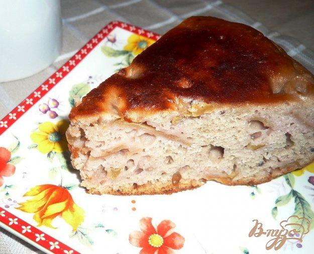 Рецепт Яблочная шарлотка с вареньем