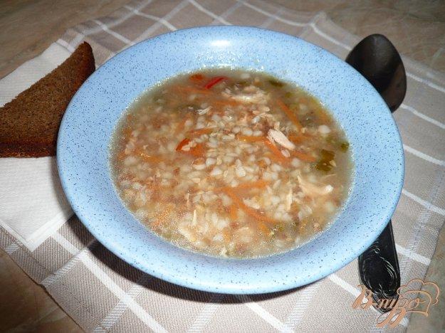 фото рецепта: Суп острый с гречкой