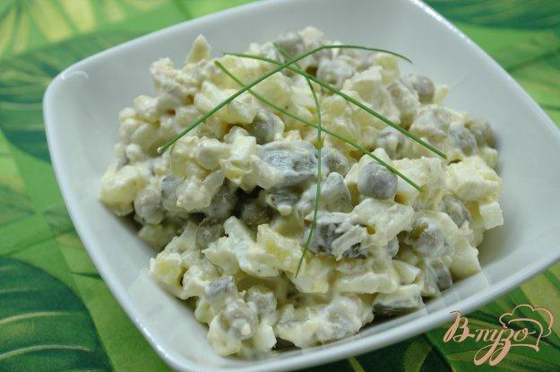 Оливье курицей пошаговый рецепт с фото