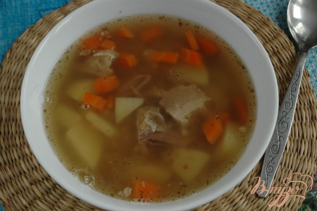 фото рецепта: Суп с грудинкой
