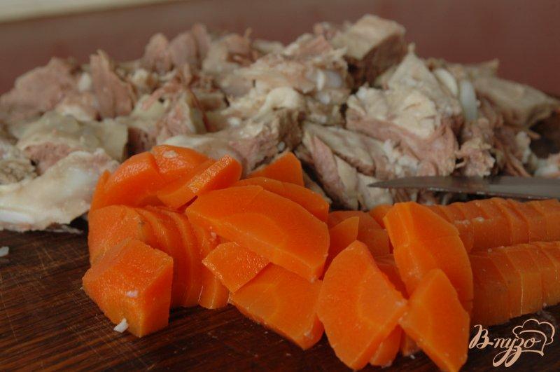 Фото приготовление рецепта: Суп с грудинкой шаг №4