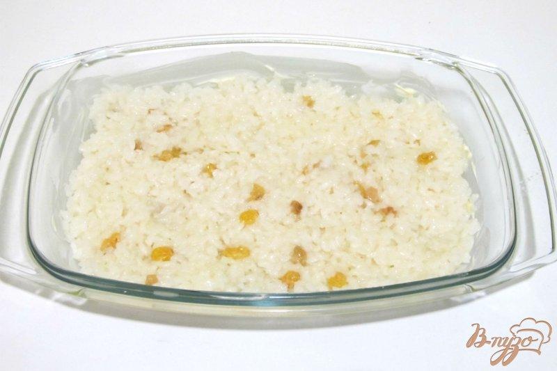 Фото приготовление рецепта: Запеканка из риса и яблок шаг №5