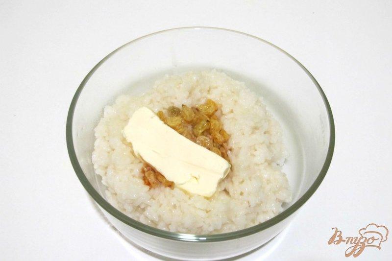 Фото приготовление рецепта: Запеканка из риса и яблок шаг №2
