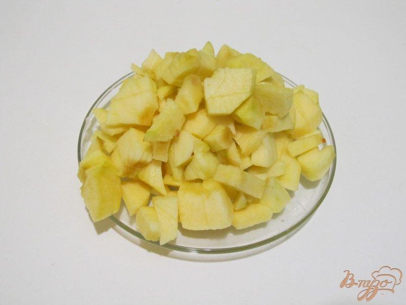 Фото приготовление рецепта: Фокачча с яблоками шаг №5