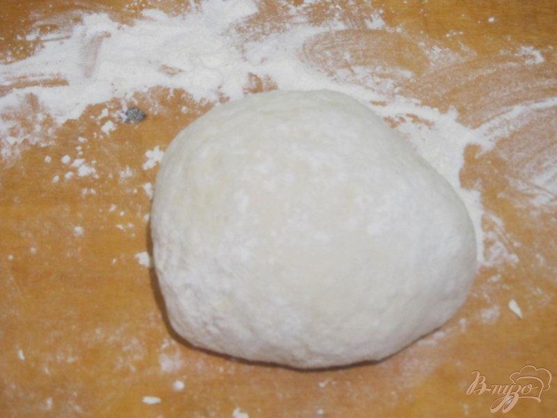 Фото приготовление рецепта: Фокачча с яблоками шаг №3