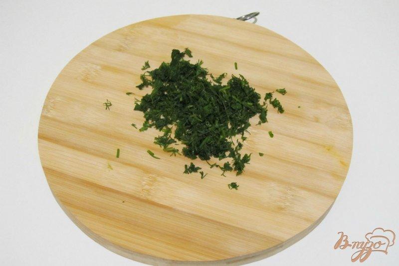 Фото приготовление рецепта: Рулет с грибами и укропом шаг №2