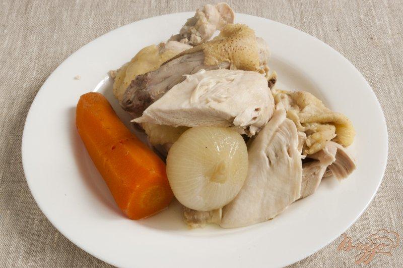 Фото приготовление рецепта: Борщ по-полтавски шаг №2