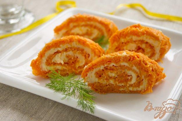 Рецепт Морковный рулет
