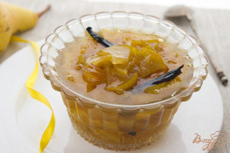 Фото приготовление рецепта: Варенье из груши с ванилью шаг №10