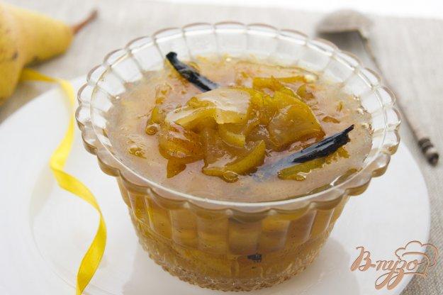 фото рецепта: Варенье из груши с ванилью