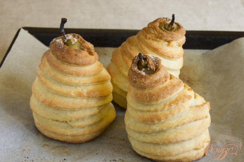 Фото приготовление рецепта: Ароматные груши в творожном тесте шаг №7