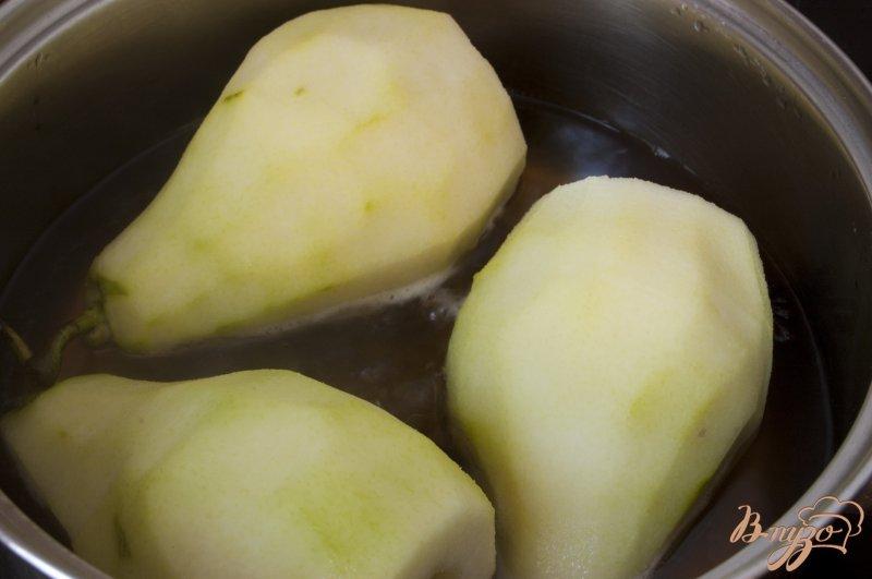 Фото приготовление рецепта: Ароматные груши в творожном тесте шаг №3