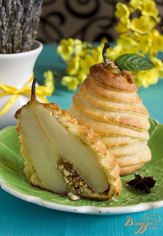 Фото приготовление рецепта: Ароматные груши в творожном тесте шаг №8
