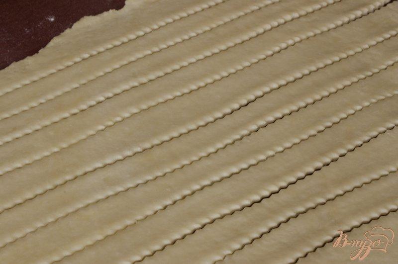 Фото приготовление рецепта: Ароматные груши в творожном тесте шаг №5