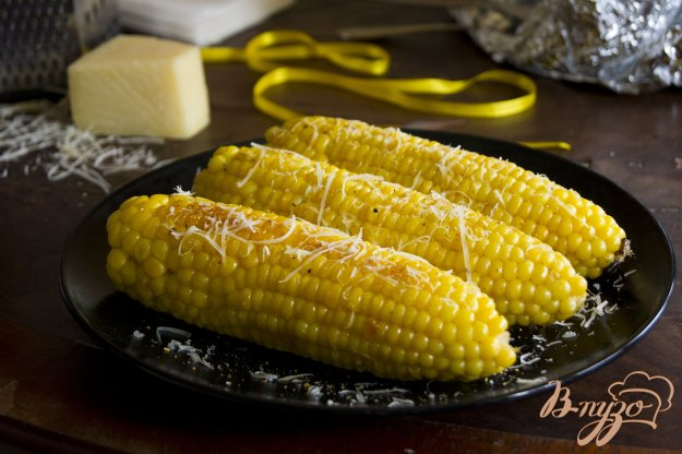 Рецепт Кукуруза, запеченная в фольге