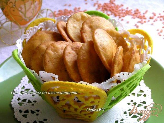 Рецепт Чечевичные чипсы