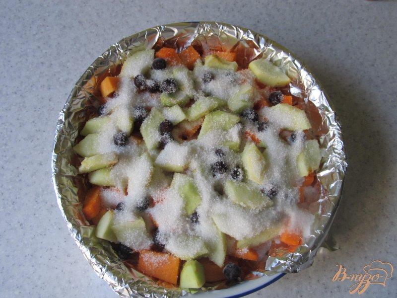 Фото приготовление рецепта: Десерт из тыквы шаг №4