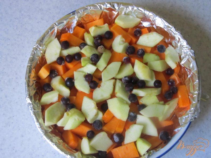 Фото приготовление рецепта: Десерт из тыквы шаг №3