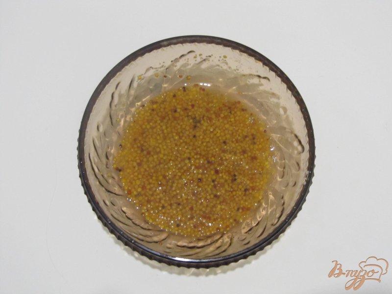 Фото приготовление рецепта: Салат из пекинской и краснокочанной капусты шаг №5
