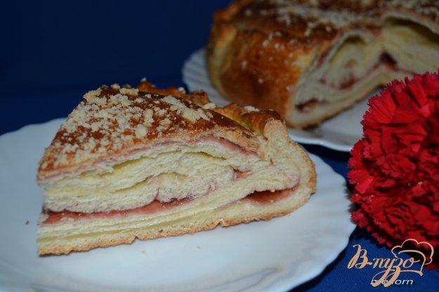 Рецепт Катлы-паштет (слоеный пирог) с джемом