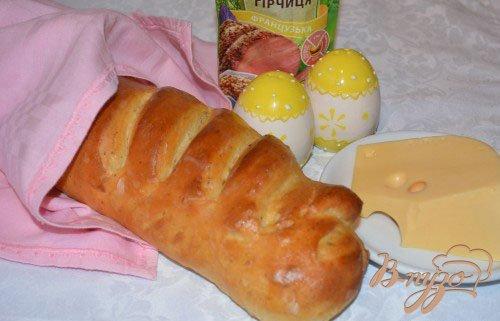 Домашний хлеб на аджике