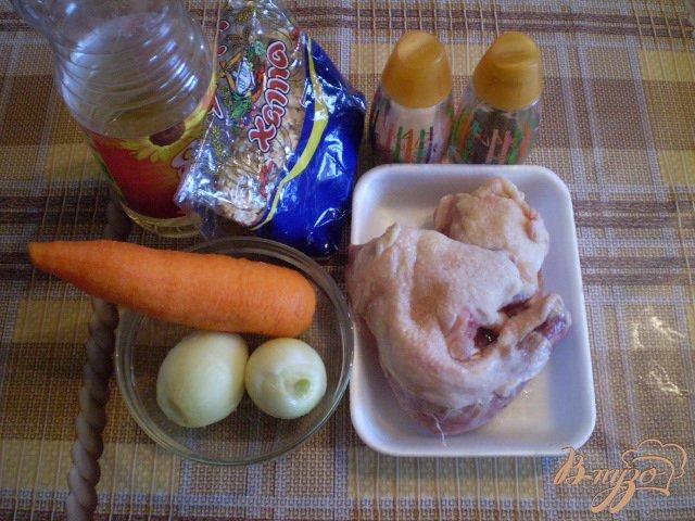 Фото приготовление рецепта: Овсяный суп на курином бульоне шаг №1