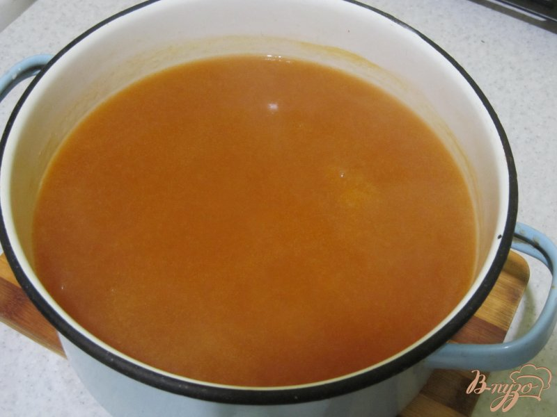 Фото приготовление рецепта: Кисель фруктовый шаг №6