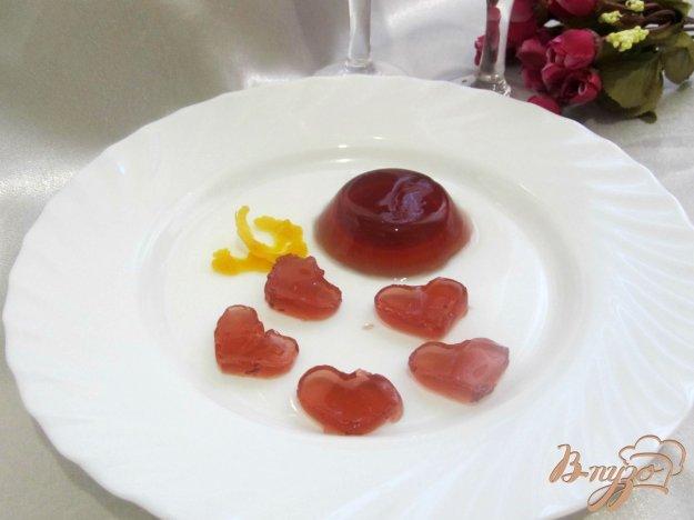 Рецепт Желе из красного вина