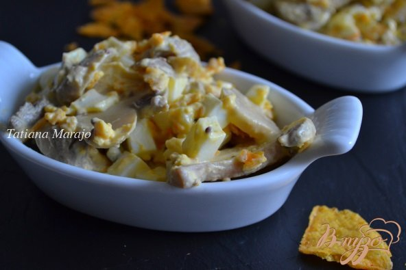 Рецепт Салат с кукурузными чипсами