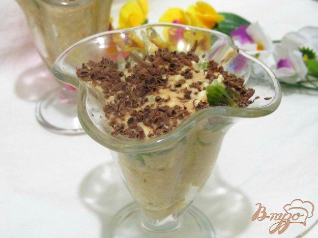 Рецепт Бананово-творожный десерт