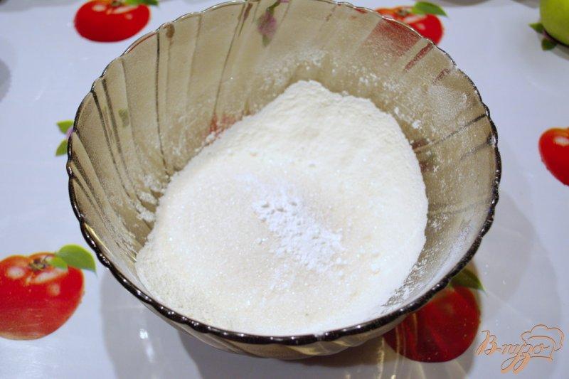 Фото приготовление рецепта: Кексы в горошках шаг №1